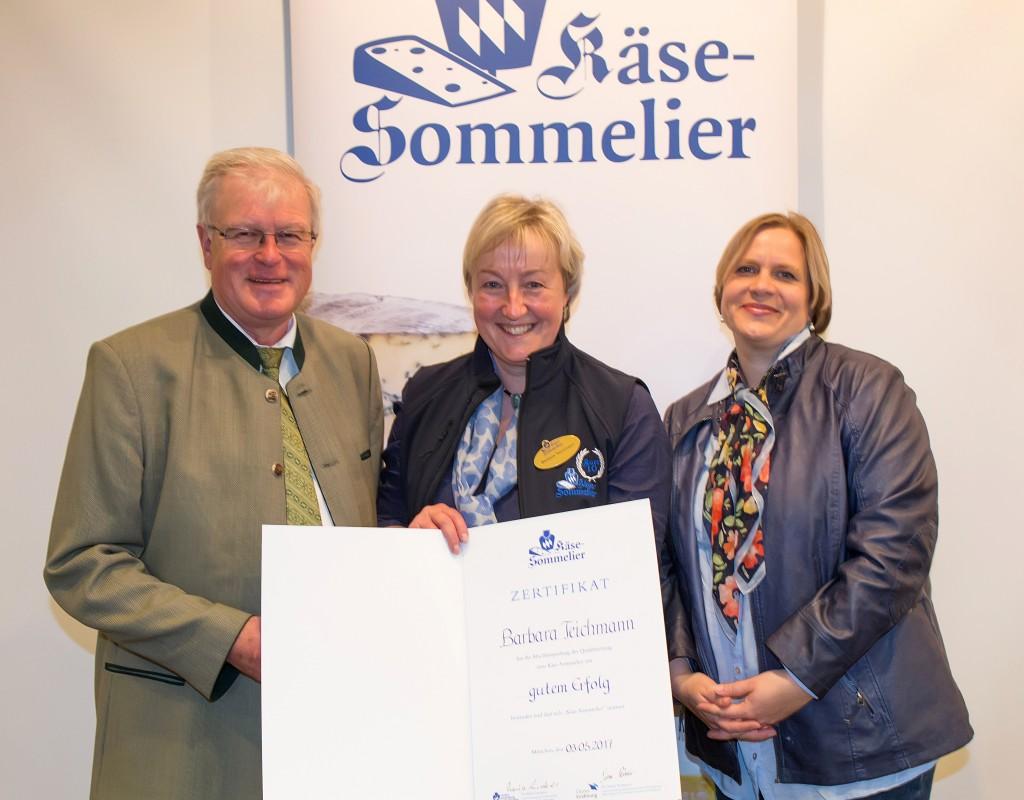 Die BierVersteherin Barbara Teichmann aus Wasserburg ist Käse-Sommeliere