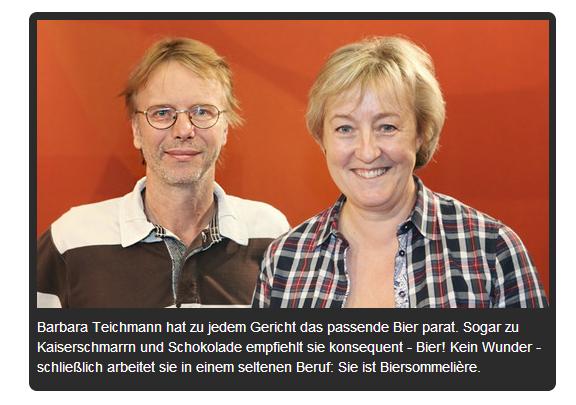 Foto Barbara Teichmann und Stefan Parrisius