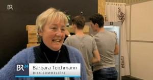 Die BierVersteherin Barbara Teichmann auf der BrauBeviale in Nürnberg und im BR