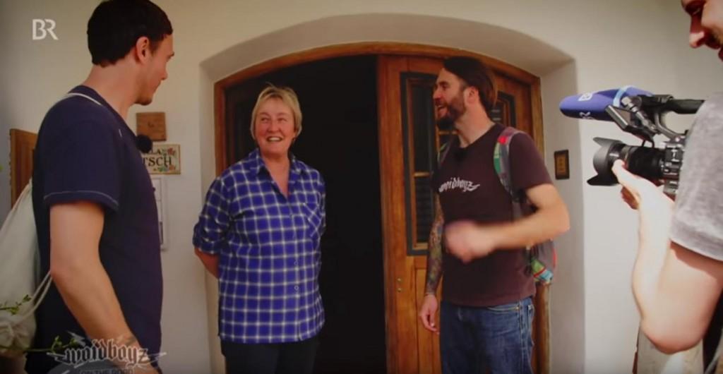 Die BierVersteherin Barbara Teichmann und die Woidboyz vom BR