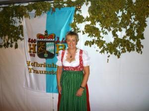 Barbara Teichmann Die BierVersteherin beim HB Traunstein zur 400 Jahr Feier