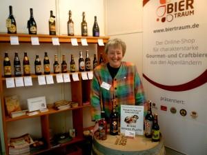 Barbara Teichmann Die BierVersteherin auf der Braukunstmesse LIVE 2014