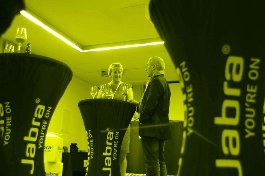 Barbara Teichmann Die BierVersteherin auf der Jabra Tagung