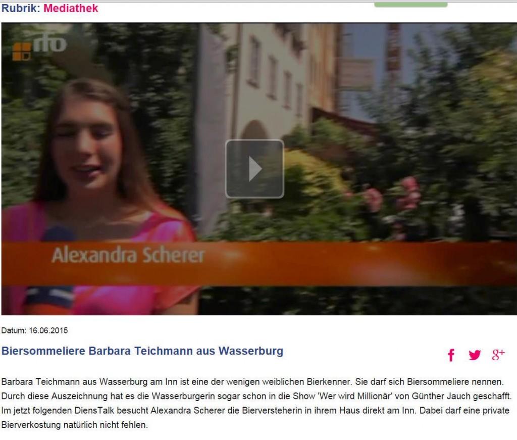 Barbara Teichmann Die BierVersteherin Interview durch fro
