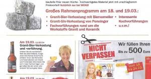 Barbara Teichmann die BierVersteherin präsentiert bei WEKO in Pfarrkirchen