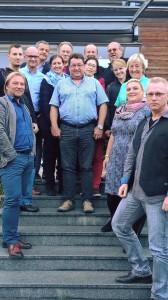 Barbara Teichmann die Bierversteherin aus Wasserburg beim Käseseminar Teilnehmer
