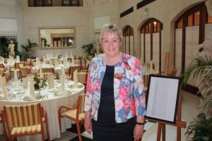 Barbara Teichmann die BierVersteherin aus Wasserburg im Hotel Adlon in Berlin